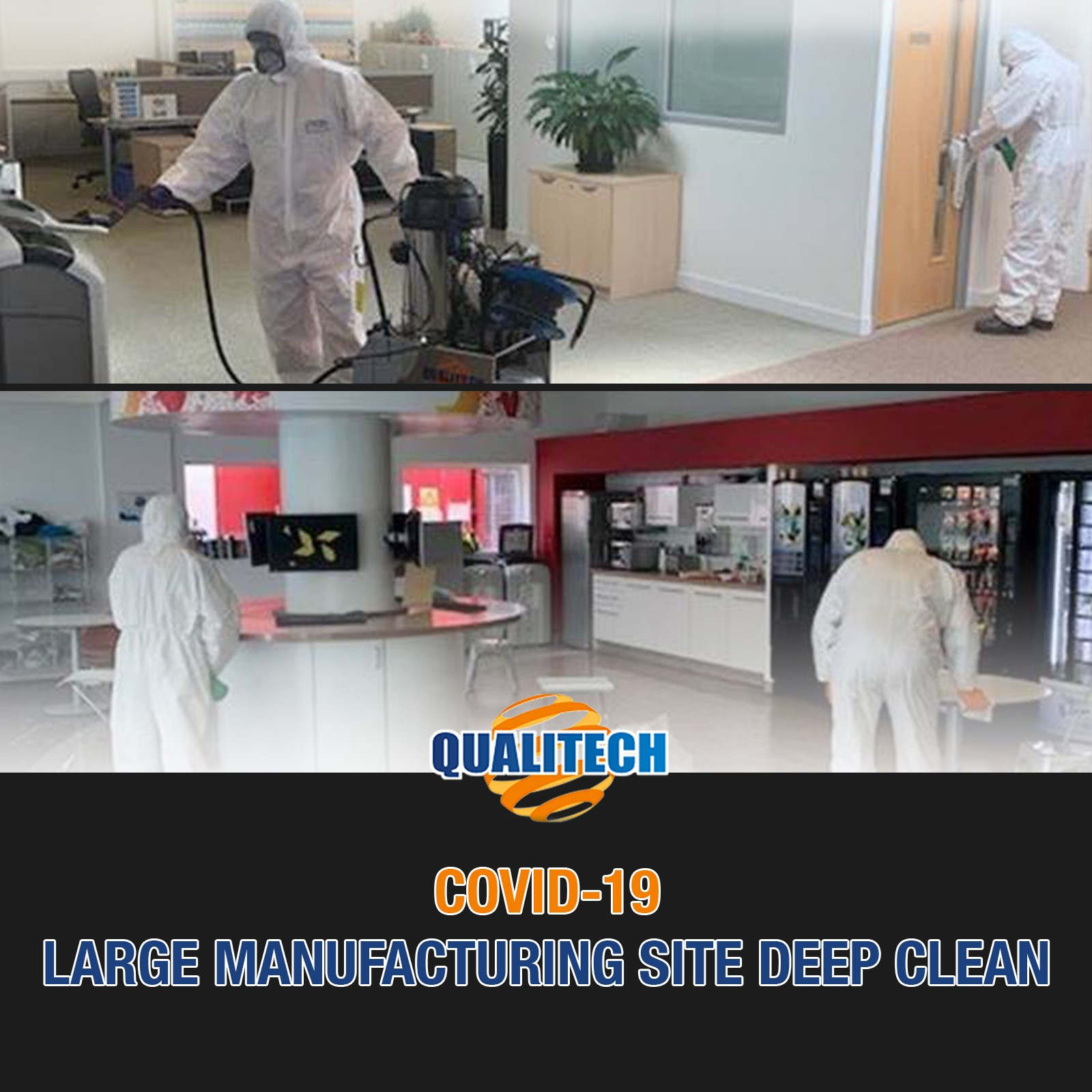 Large Manufacturing deep clean